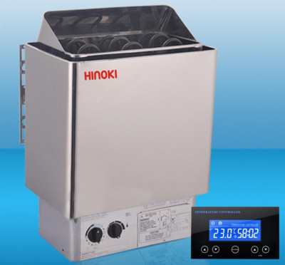 Máy xông hơi khô Hinoki 6kw (Digital Control CU)-thumb-2