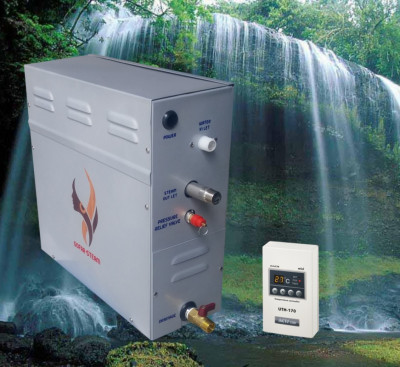 Máy xông hơi ướt Gofar 6kw (Digital Control 170)-thumb-1